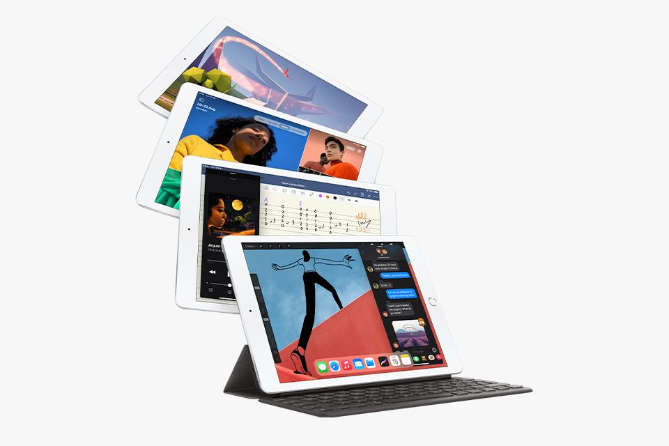 iPad Pro, iPad Air, iPad and iPad mini.