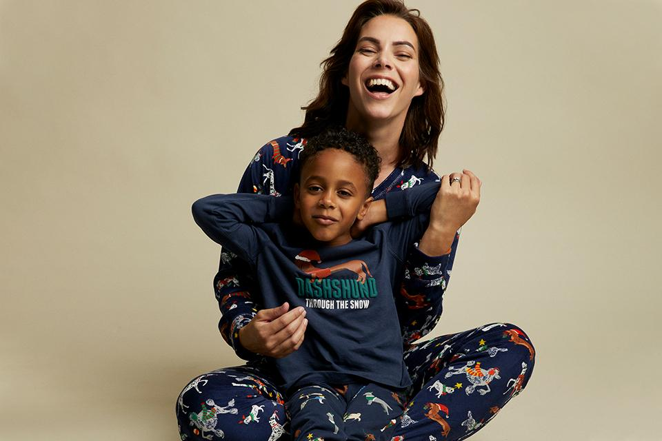 Co-ordinating festive Tu clothing for adults and kids.