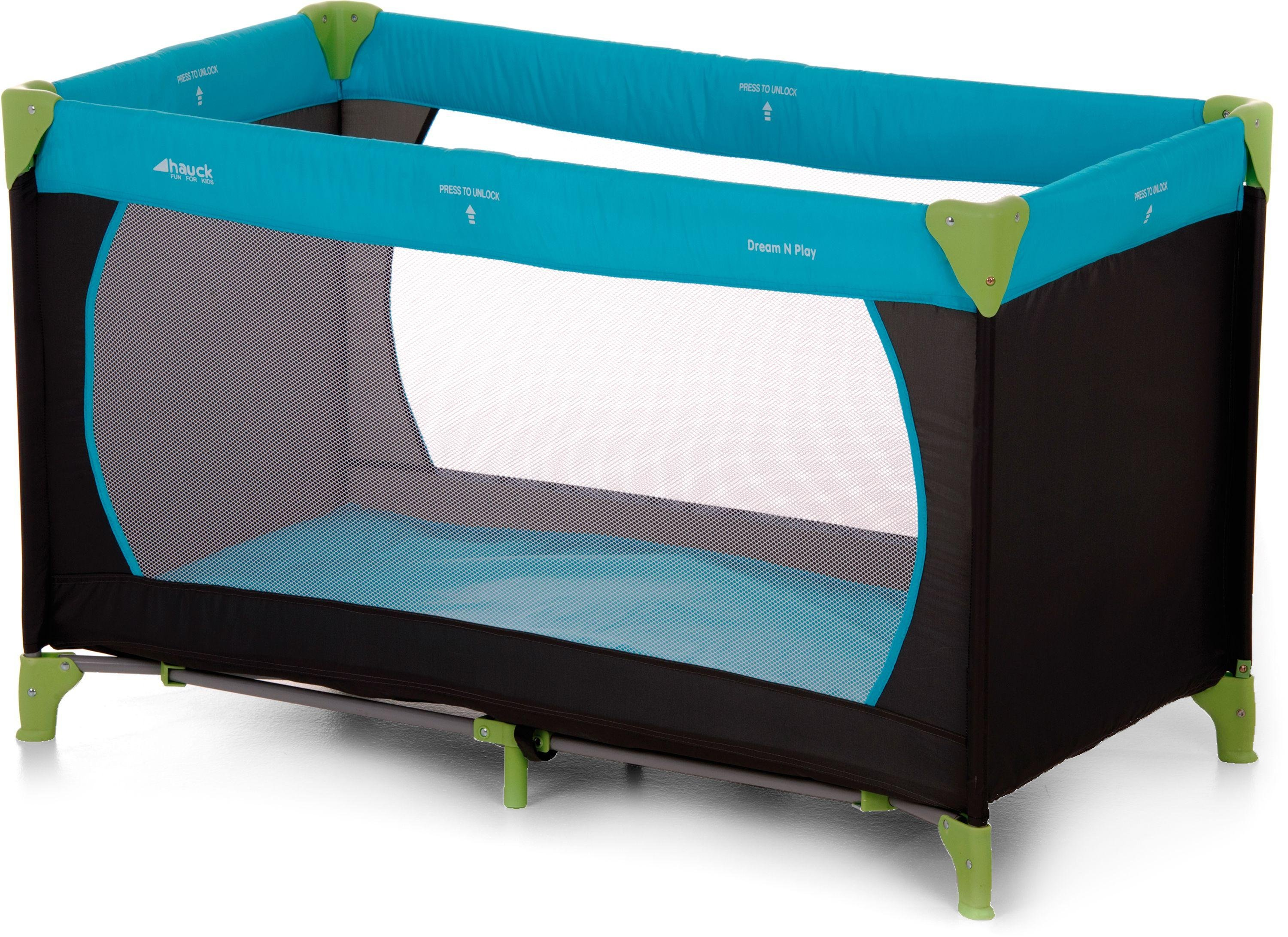 Image of Hauck Dream'n Play - Travel - Cot - Waterblue