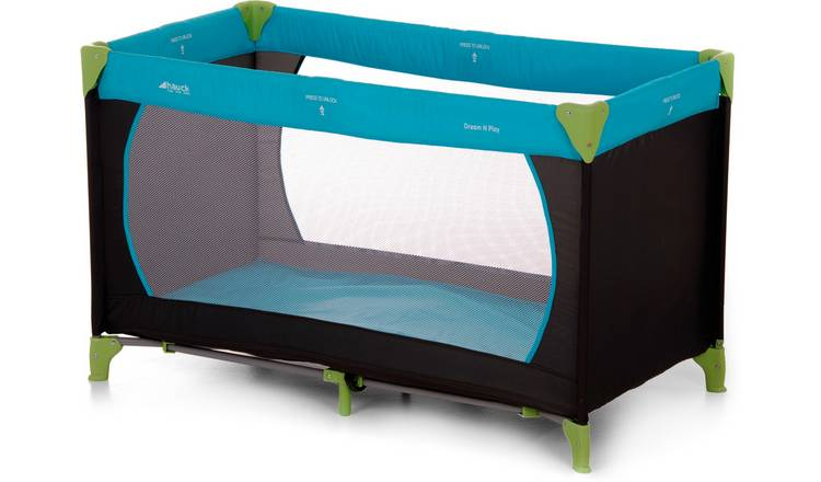 reputable site b7ebb 1c2b7 Buy Hauck Dream'n Play Travel Cot - Waterblue | Travel cots | Argos