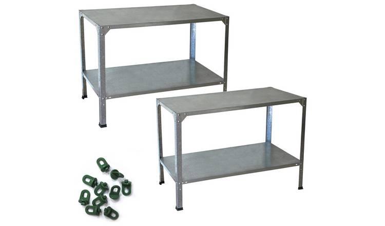 Buy Palram Greenhouse Accessories Work Bench+ | Greenhouse accessories |  Argos
