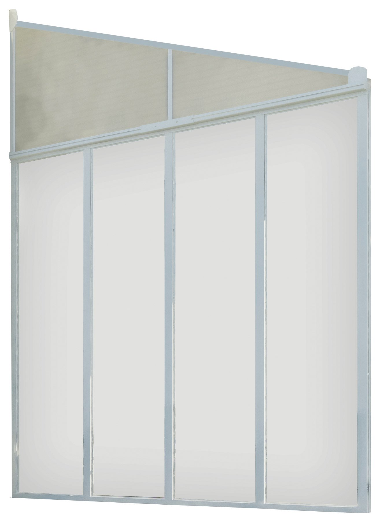 Palram Feria Patio Cover Side Wall - 3 Metre Depth. lowest price