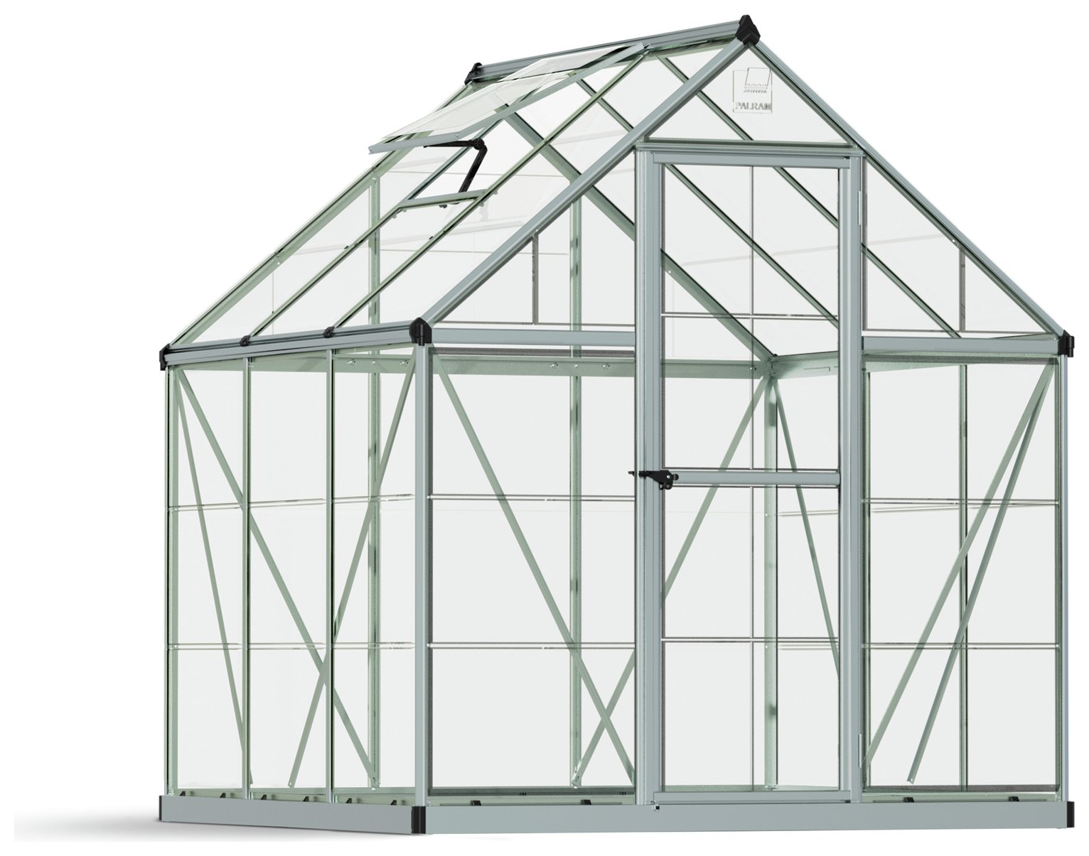 Palram - Canopia Harmony Silver Greenhouse - 6 x 6ft