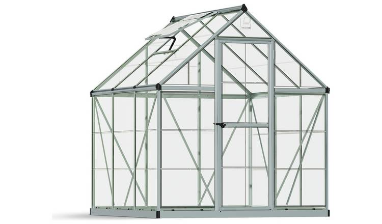 Palram Harmony Silver Greenhouse - 6 x 6ft.