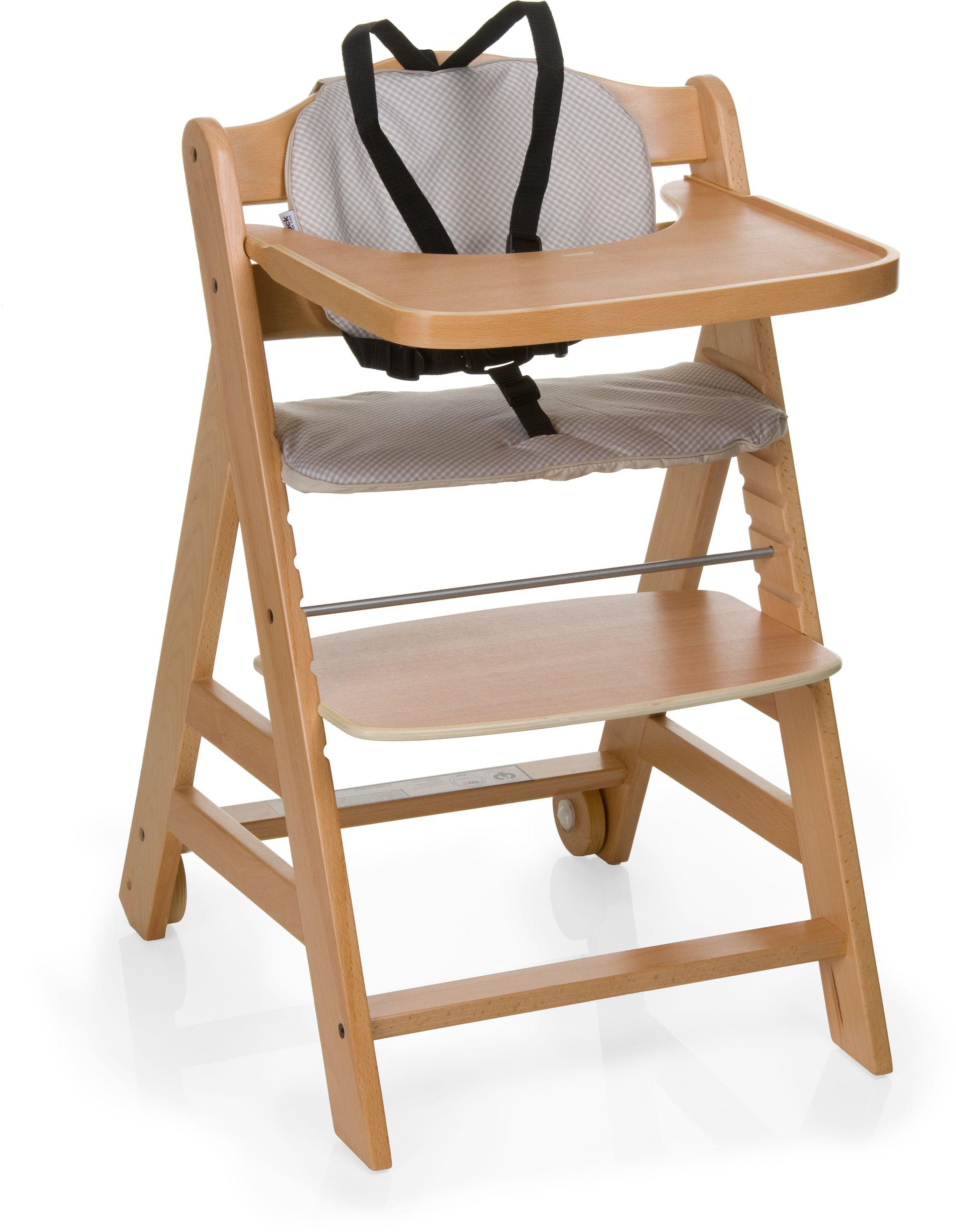 Image of Hauck Beta+ Natural - Highchair - Wood