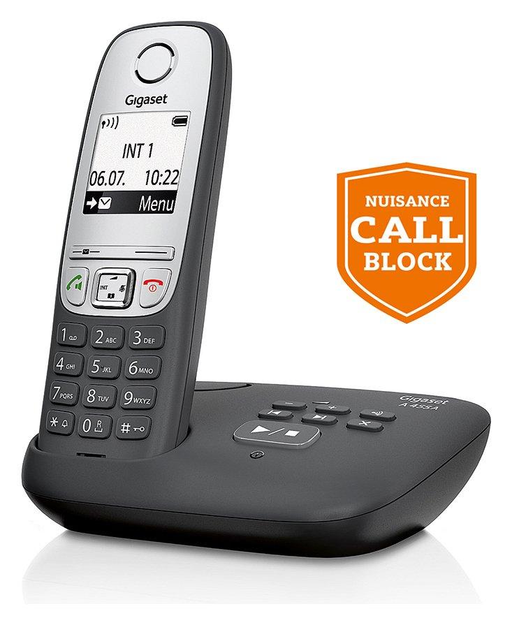 Gigaset Gigaset - A455A - Cordless Telephone & Answer Machine-Single