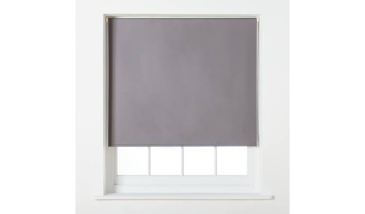 Argos Home Blackout Roller Blind - 5ft - Grey