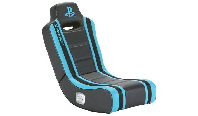 X Rocker Geist Stereo Audio PlayStation Floor Gaming Chair