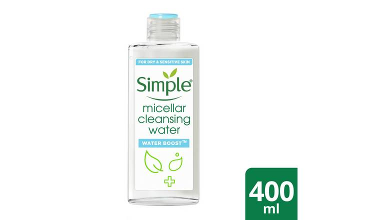 Simple Waterboost Micellar Water - 400ml