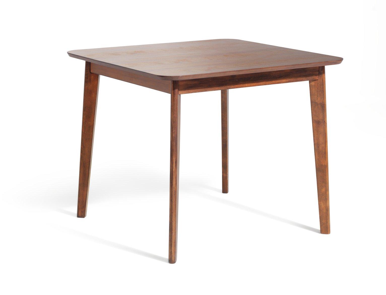 Habitat Skandi Walnut Veneer 4 Seater Dining Table