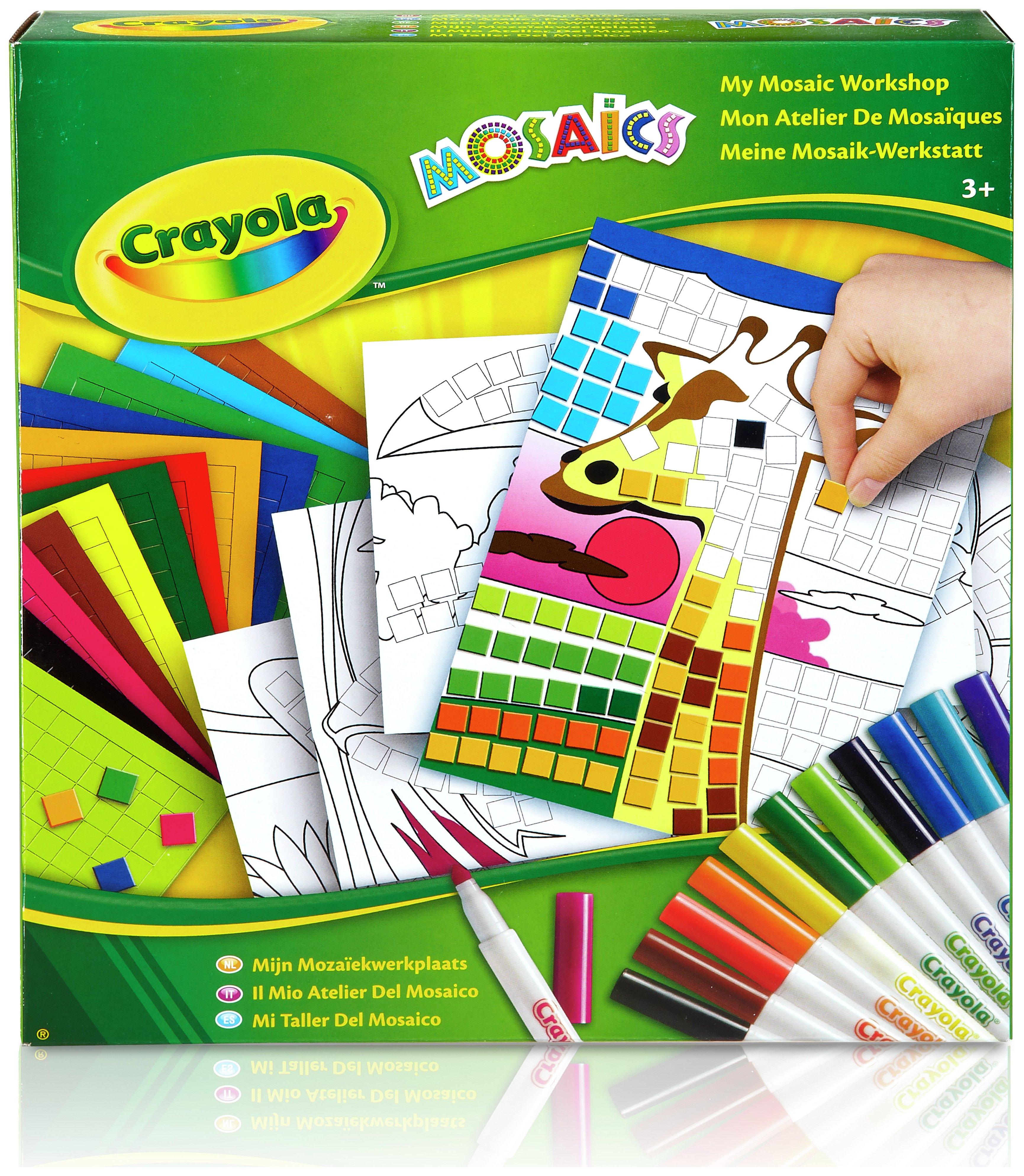 Image of Crayola Mosaic Madness Art Set