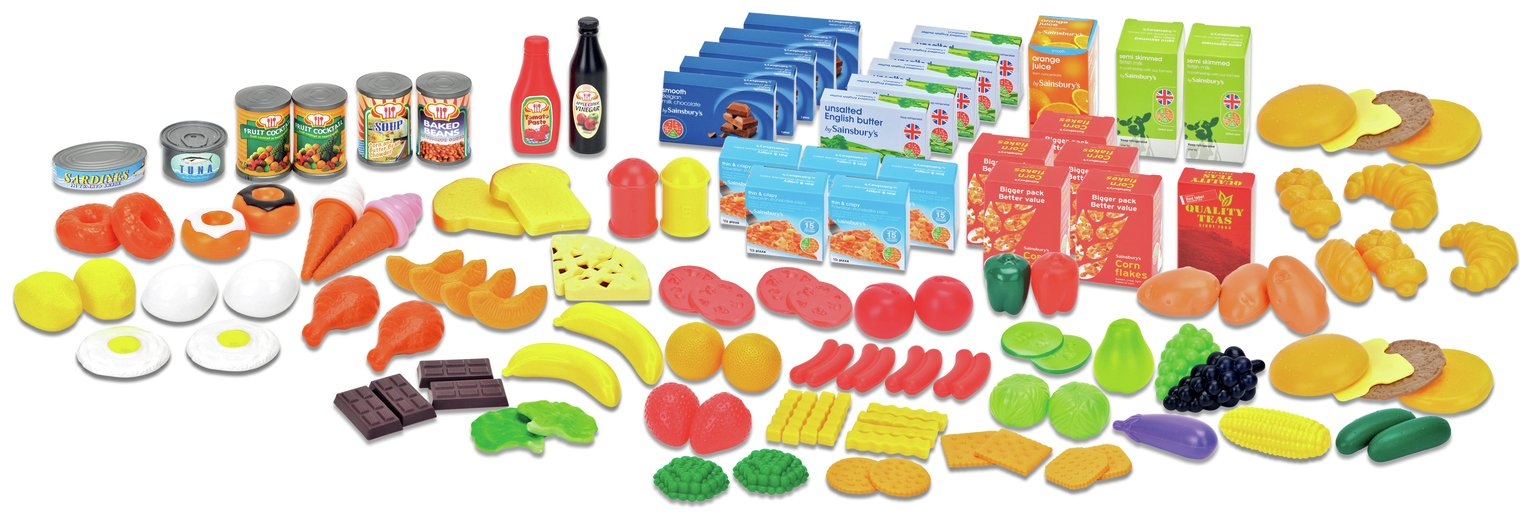 Image of Chad Valley 120 Piece Play Food Set