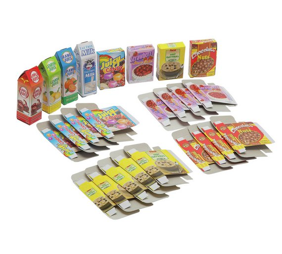 Chad Valley Newly Nice 120 Piece Play Food Set Pretend