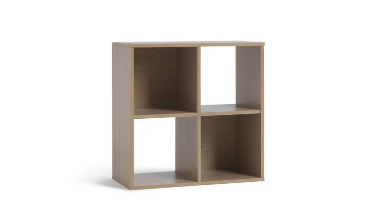 Habitat Squares 4 Cube Storage Unit - Oak Effect