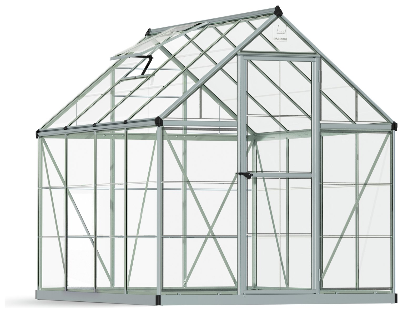 Palram - Canopia Harmony Silver Greenhouse - 6 x 8ft