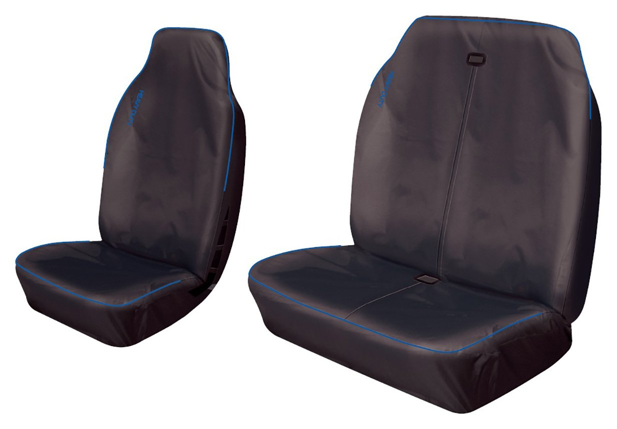 Cosmos Heavy Duty Commercial Sport Seat Covers - Blue