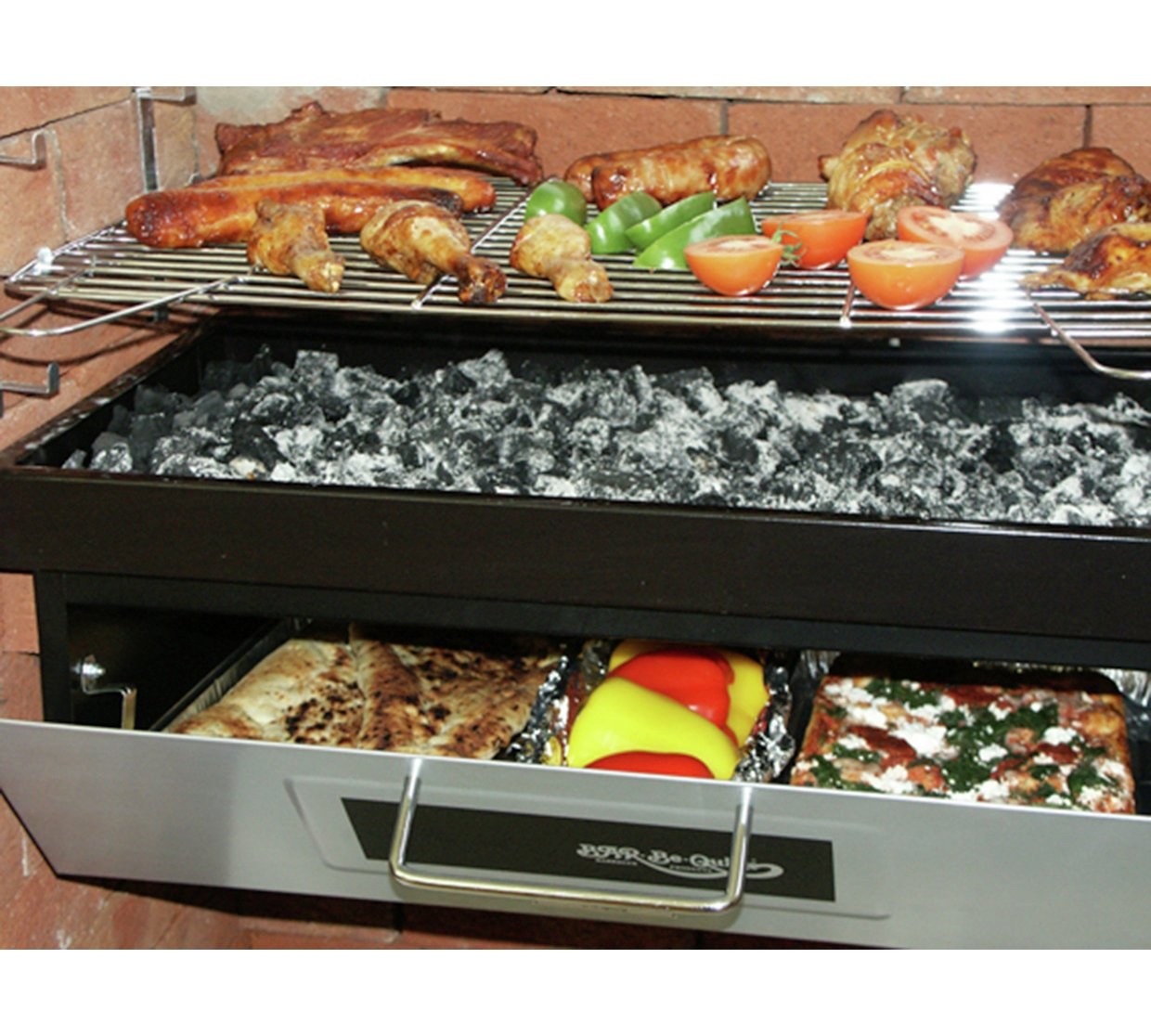 Build In Burner Barbeque BBQ, Pizza Oven, Grill, Outdoor ...
