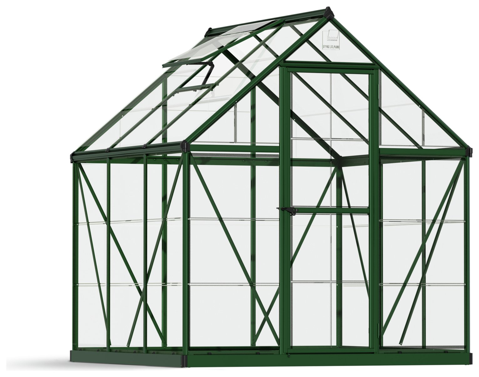 Palram - Canopia Harmony Green Greenhouse - 6 x 6ft