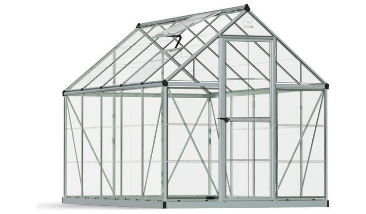 Buy Palram Harmony Silver Greenhouse - 6 x 10ft | Greenhouses | Argos