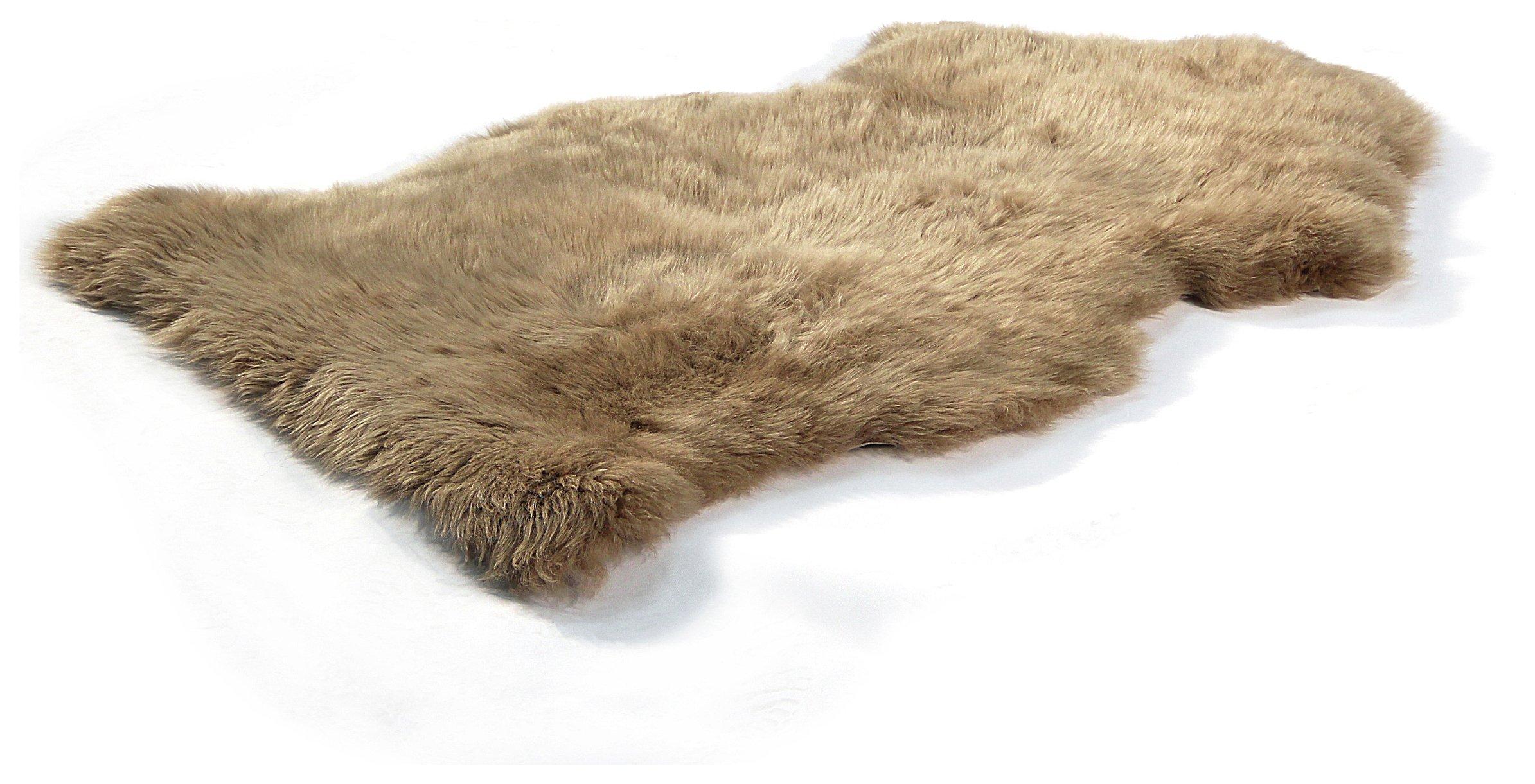 Image of Bowron Sheepskin Longwool Rug - 60 x 95cm - Paco.