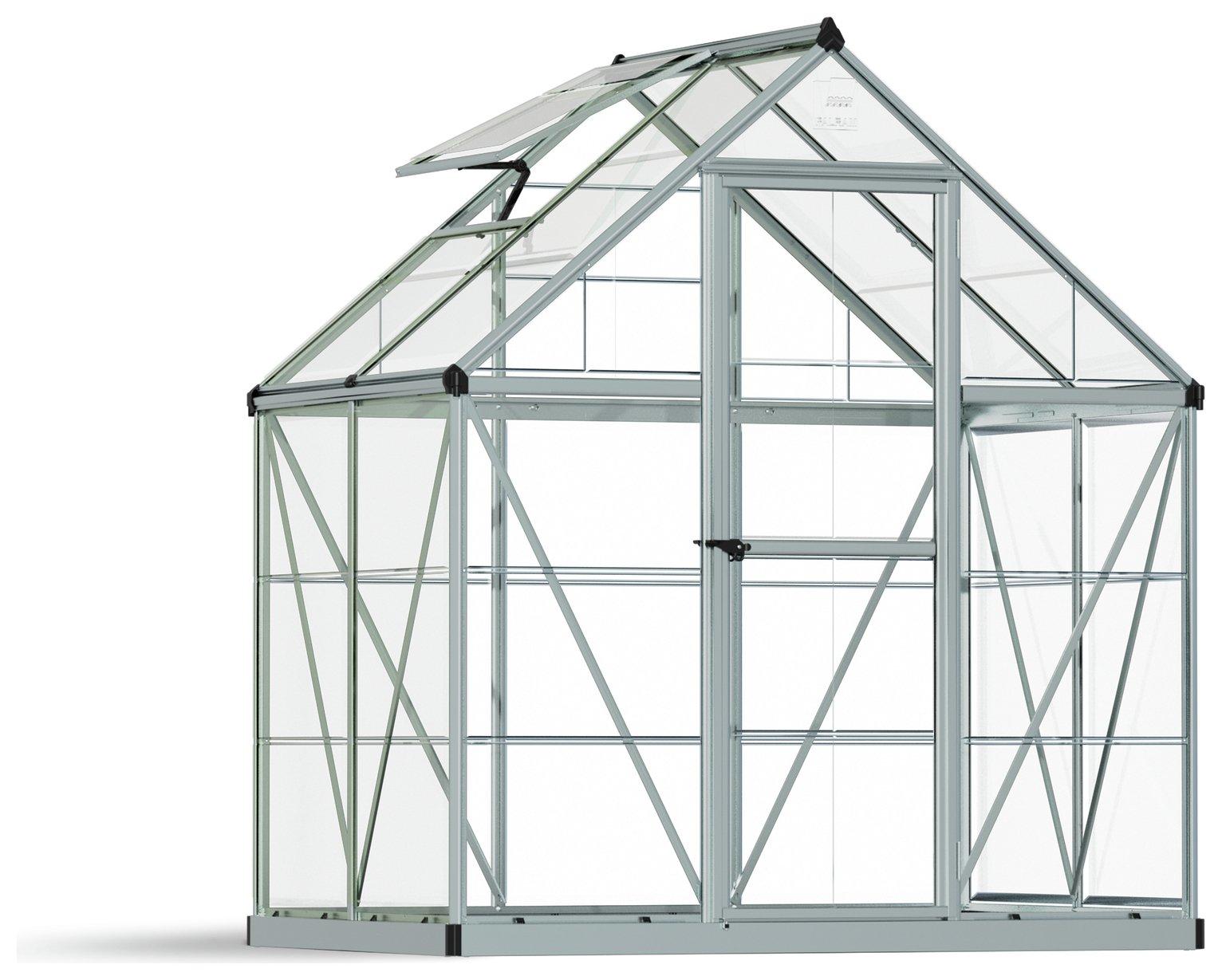 Palram Harmony Silver Greenhouse - 6 x 4ft