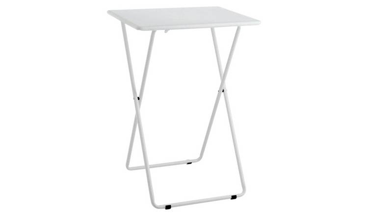 Habitat Airo Metal Folding Table - White