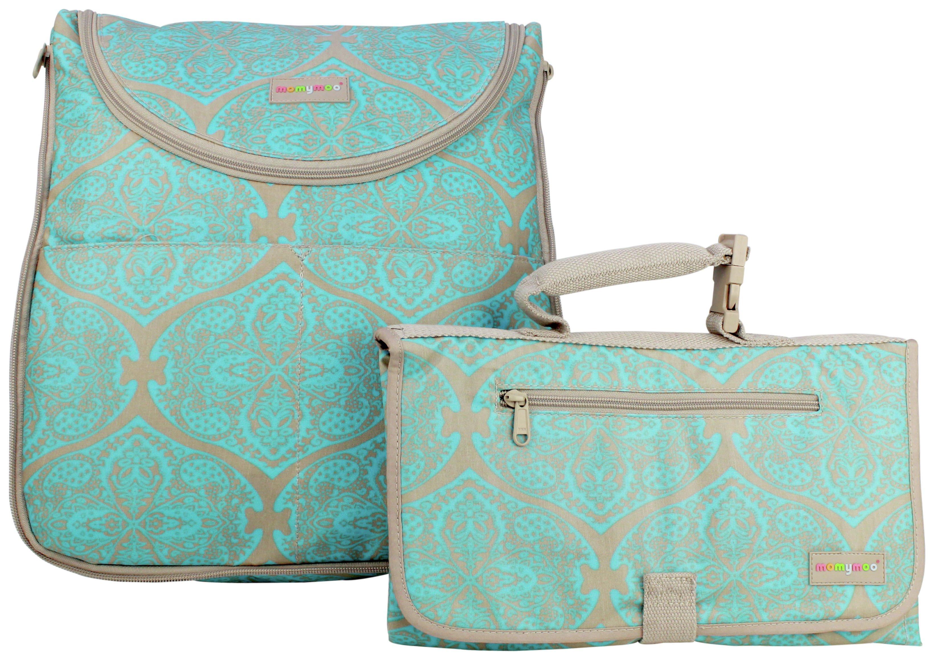 Momymoo Maia Batik Changing Bag with Free Changing Mat