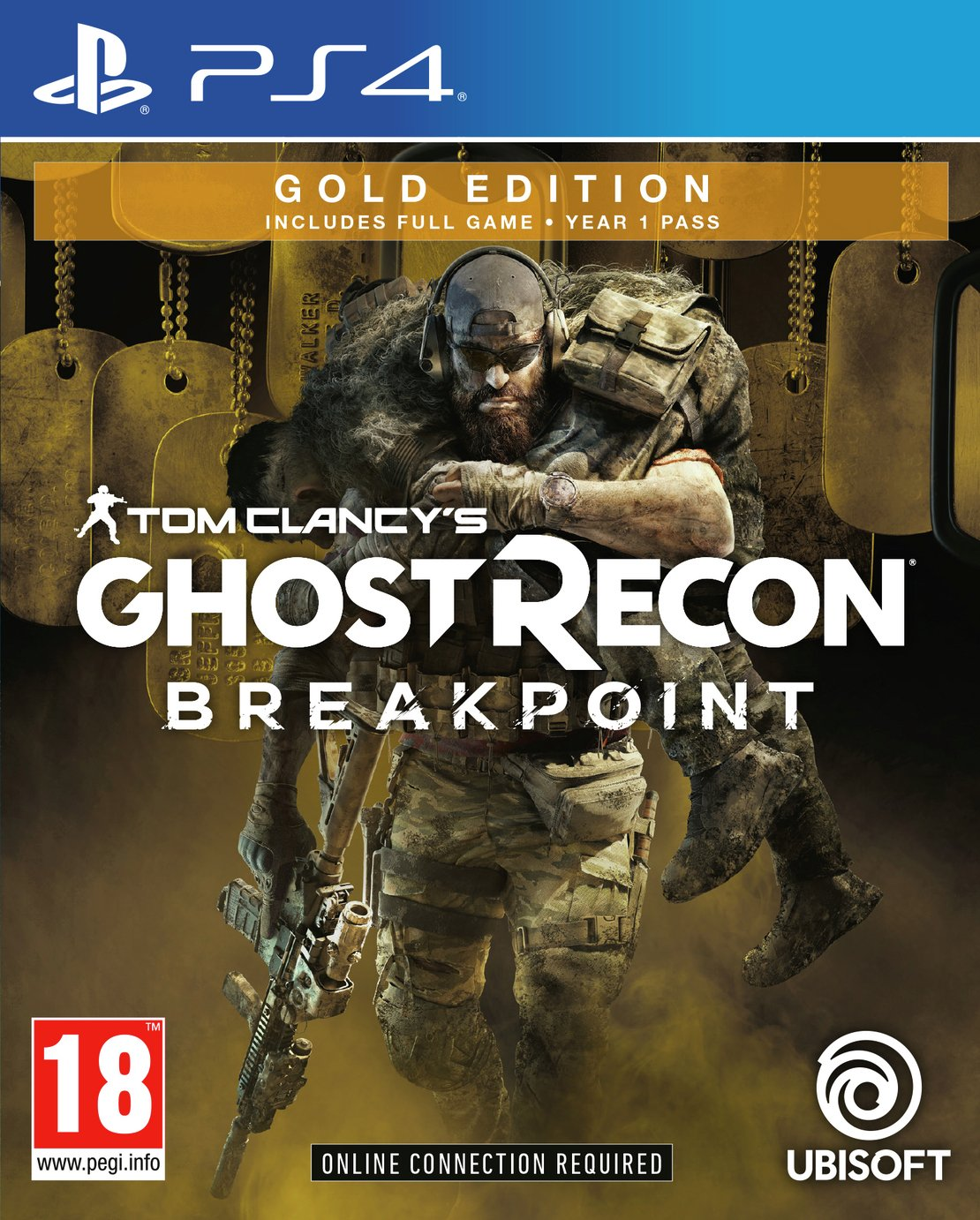 Ghost Recon Breakpoint Gold Edition PS4 Pre-Order Game