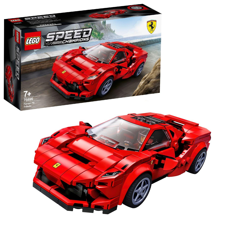 Buy Lego Speed Champions Ferrari F8 Tributo Car Set 76895 Lego Argos