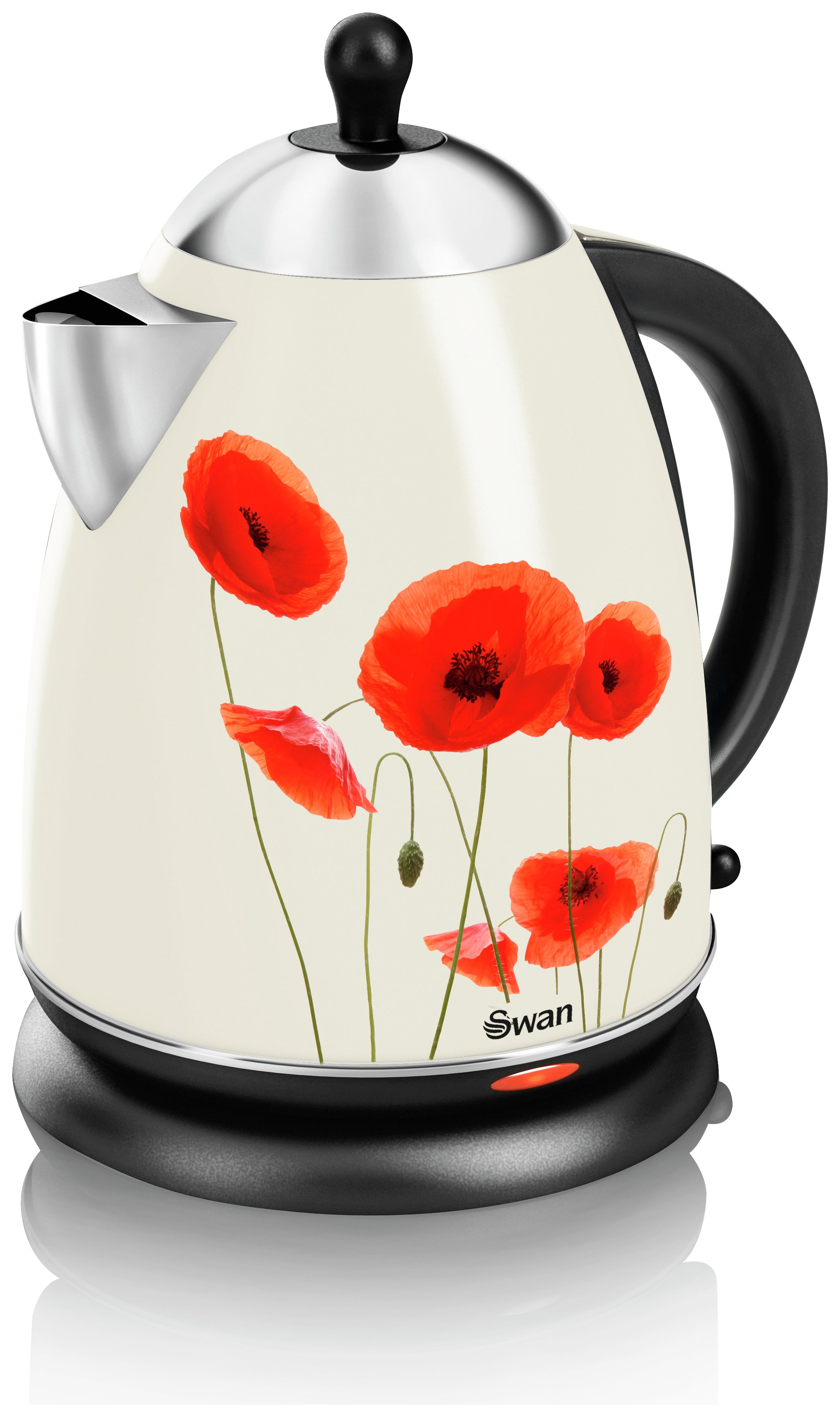 Image of Swan - Poppy Jug - Kettle