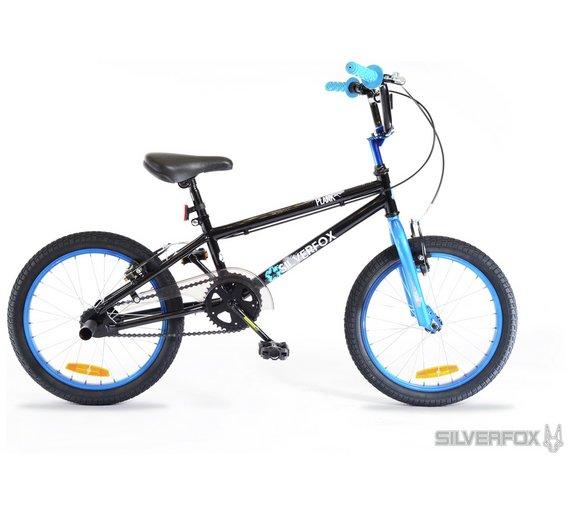 Buy Silverfox Plank 18 Inch BMX Bike   Kids bikes   Argos