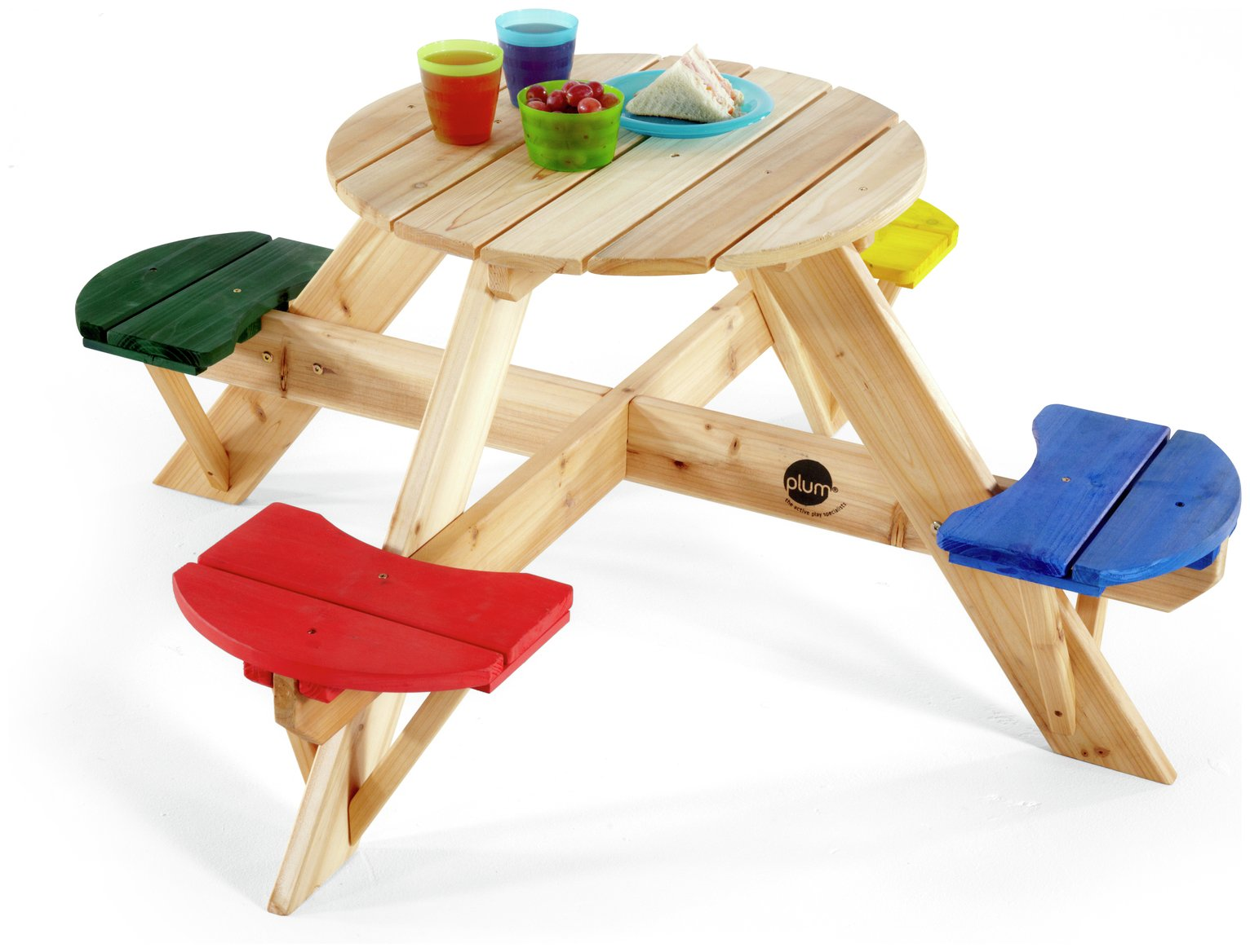 plum-kids-garden-picnic-table-with-coloured-seats