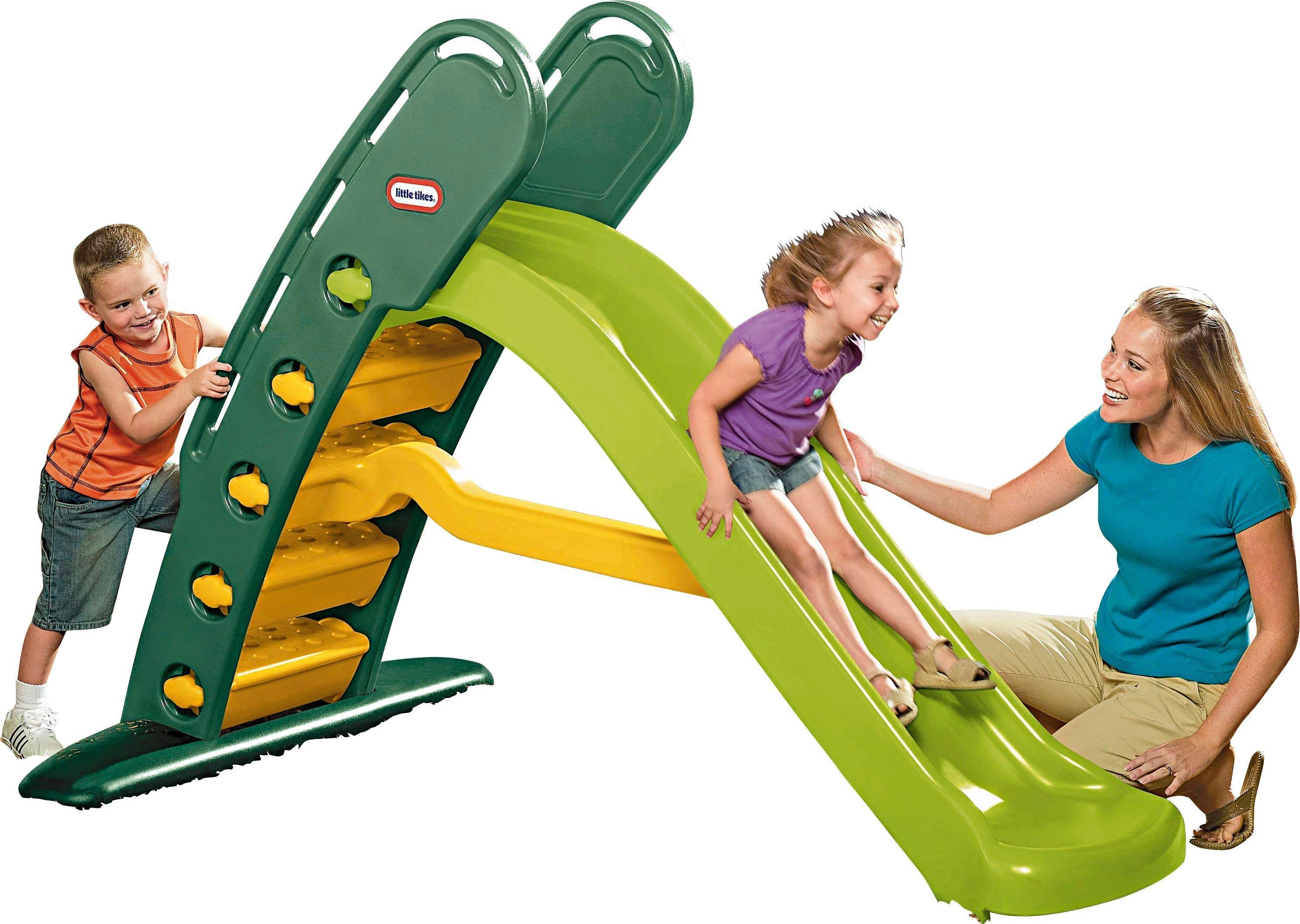 Little Tikes Easy Store Giant Slide - Evergreen