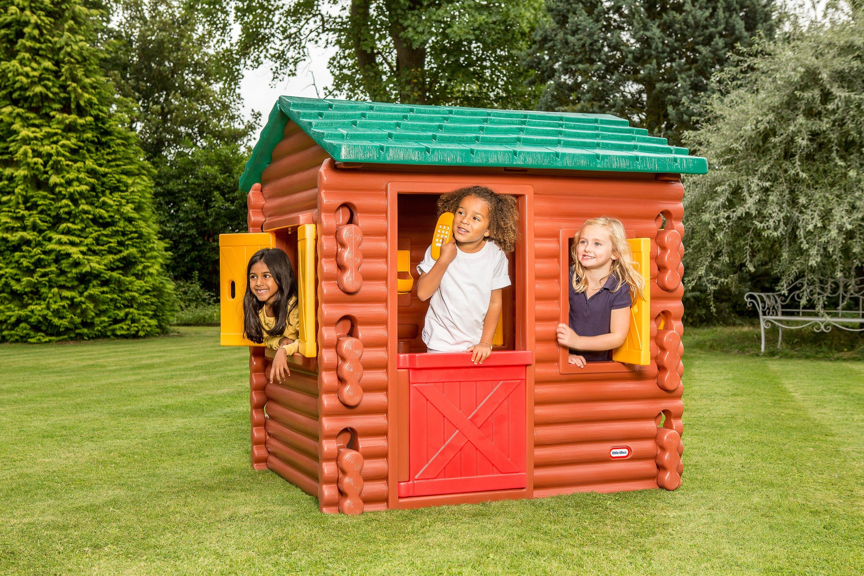 Little Tikes Log Cabin Playhouse 3891089 Argos Price Tracker