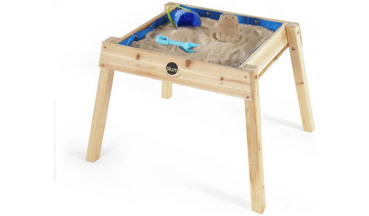 Plum Build and Splash Wooden Sand and Water Table.