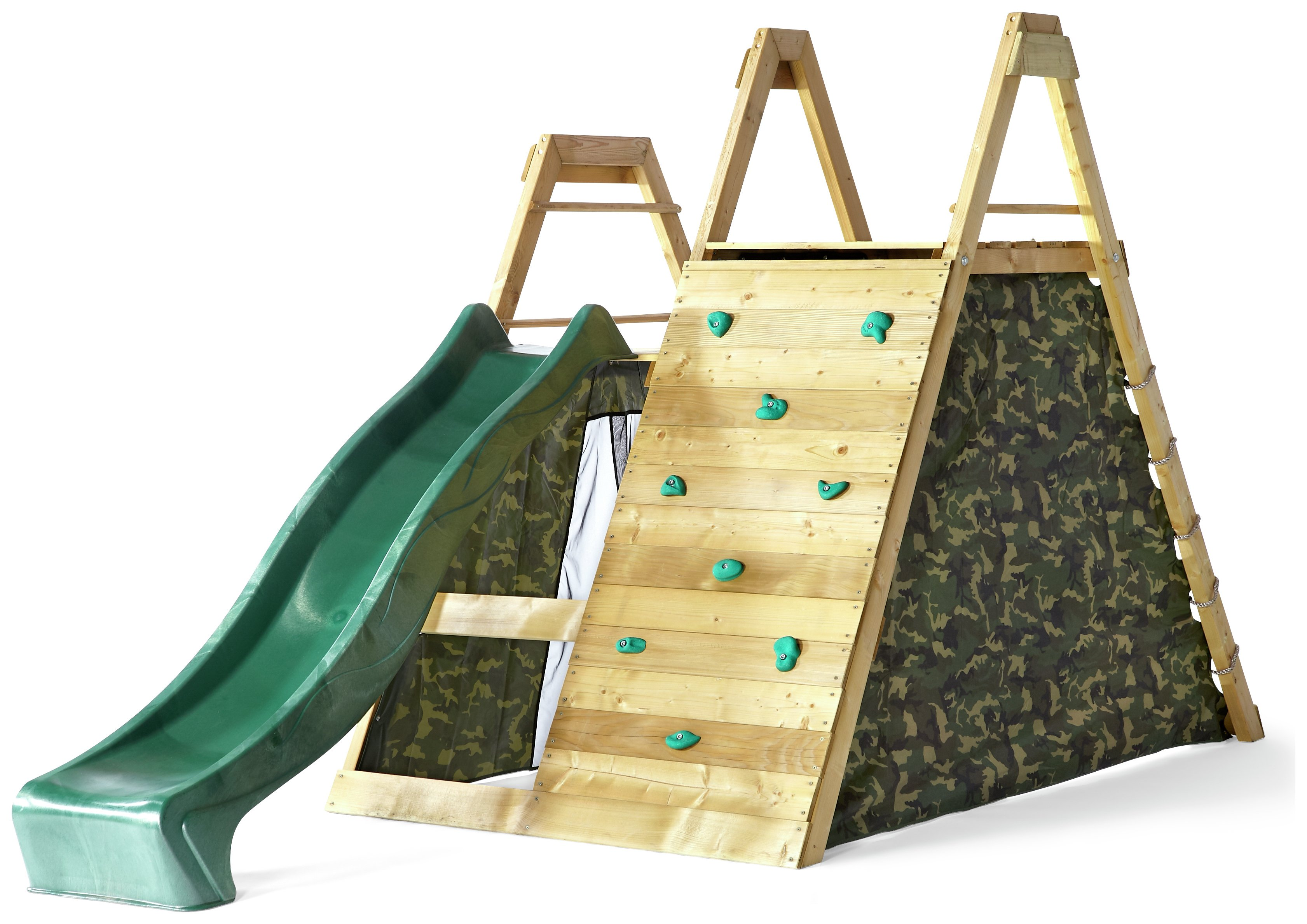 plum  climbing pyramid wooden play centre