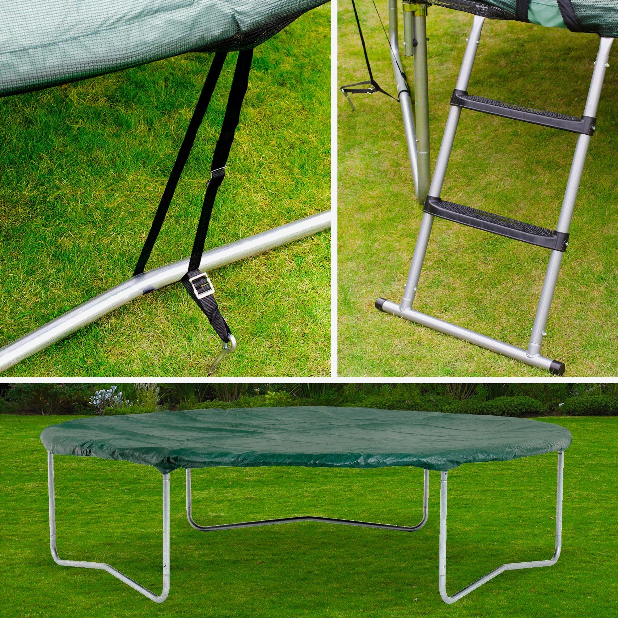 plum trampoline accessory kit  10ft.