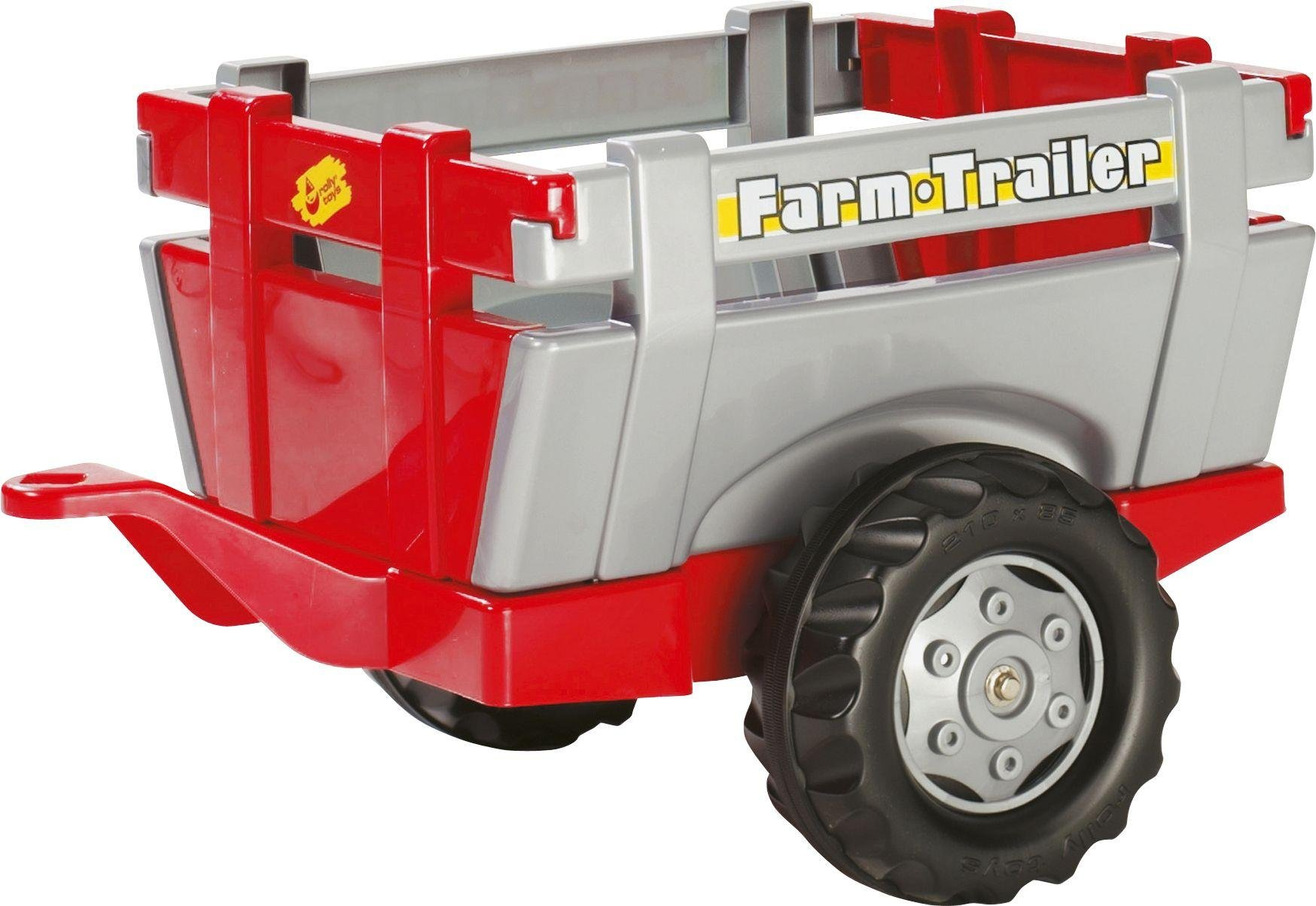 red-silver-farm-trailer-for-child-tractor