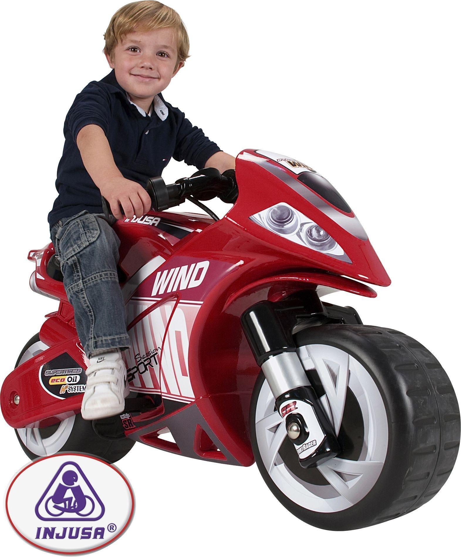 Injusa Wind Child's 6 Volt Motorbike.