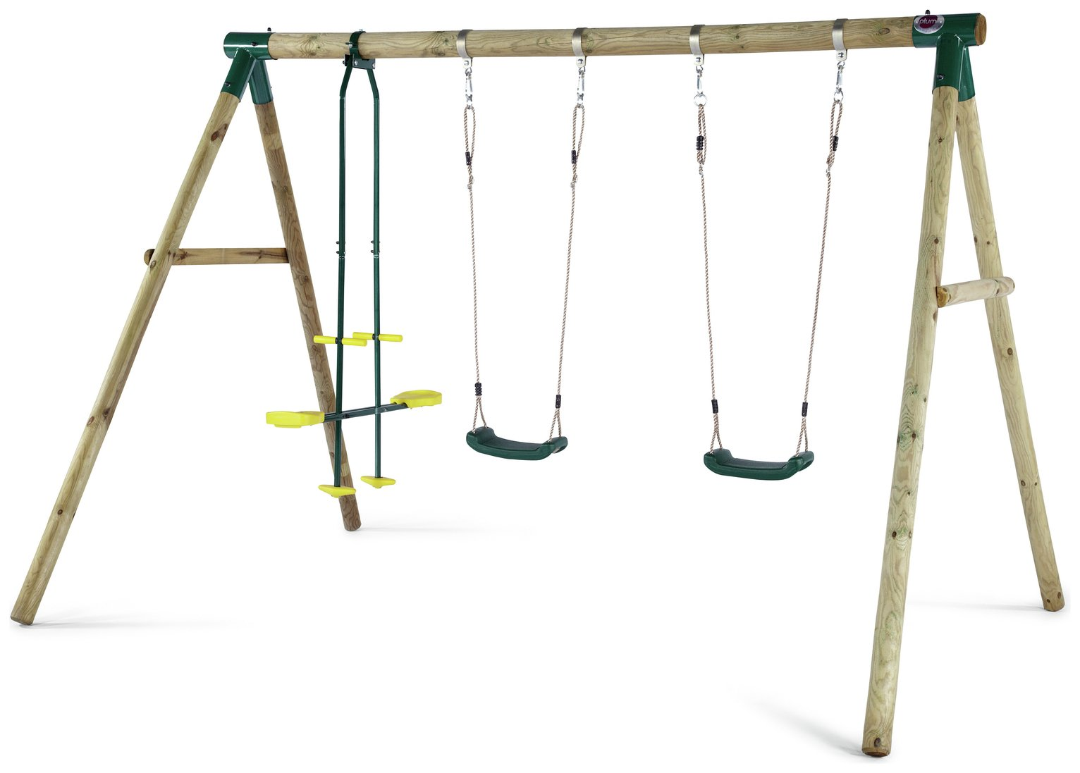 plum gibbon wooden garden swing set. Black Bedroom Furniture Sets. Home Design Ideas