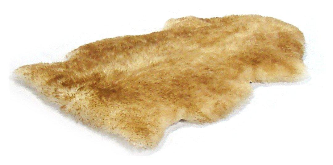 Image of Bowron Sheepskin Longwool Rug - 60 x 95cm - Dusk.