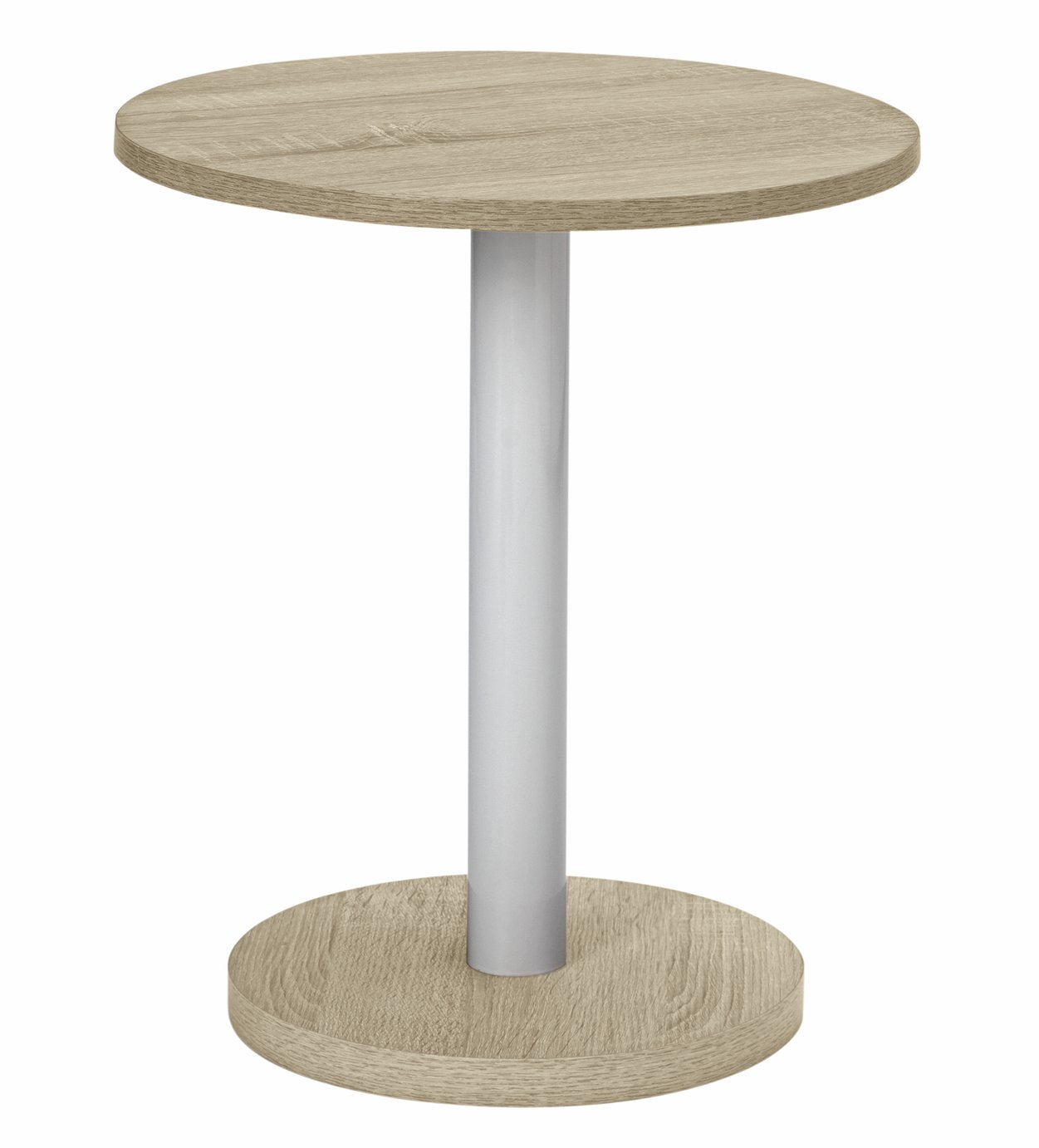 buy home small lamp side table - oak at argos.co.uk - your online