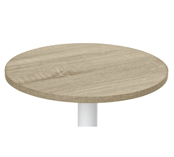 Buy argos home small lamp side table oak coffee tables side click to zoom aloadofball Image collections