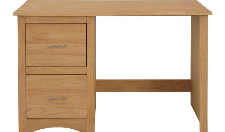 Buy Argos Home 2 Drawer Office Chester Desk Pine Office Desks