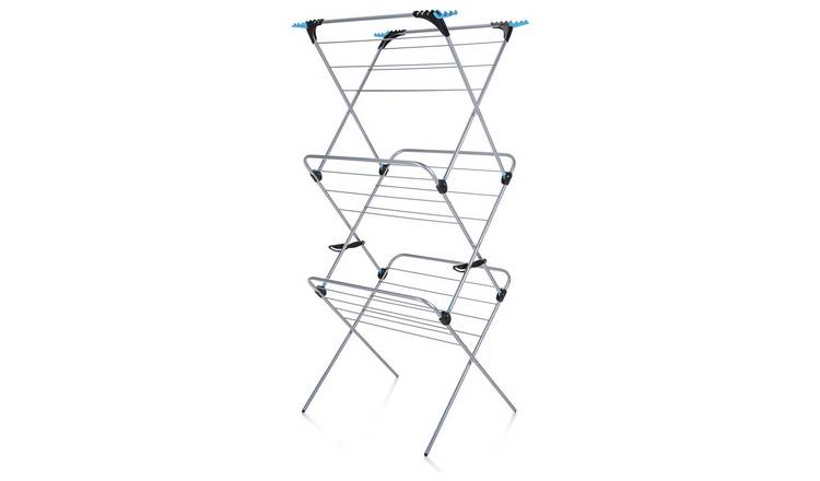 Minky Plus 21m 3 Tier Indoor Clothes Airer