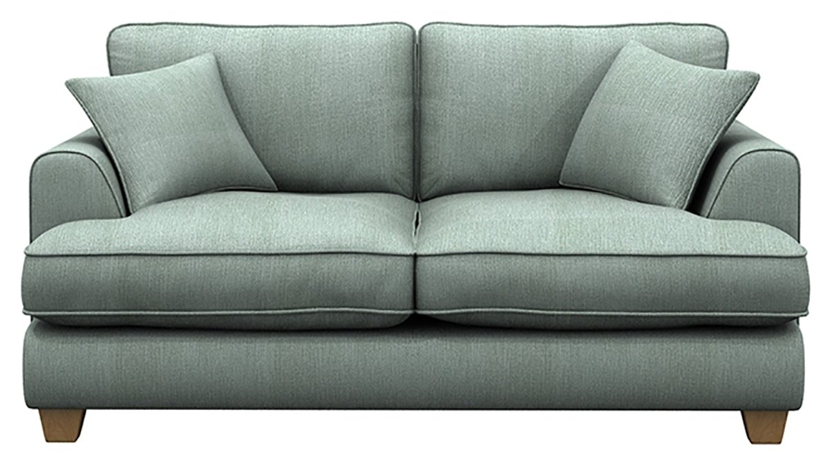 Heart of House Camden 2 Seater Sofa Bed - Blue