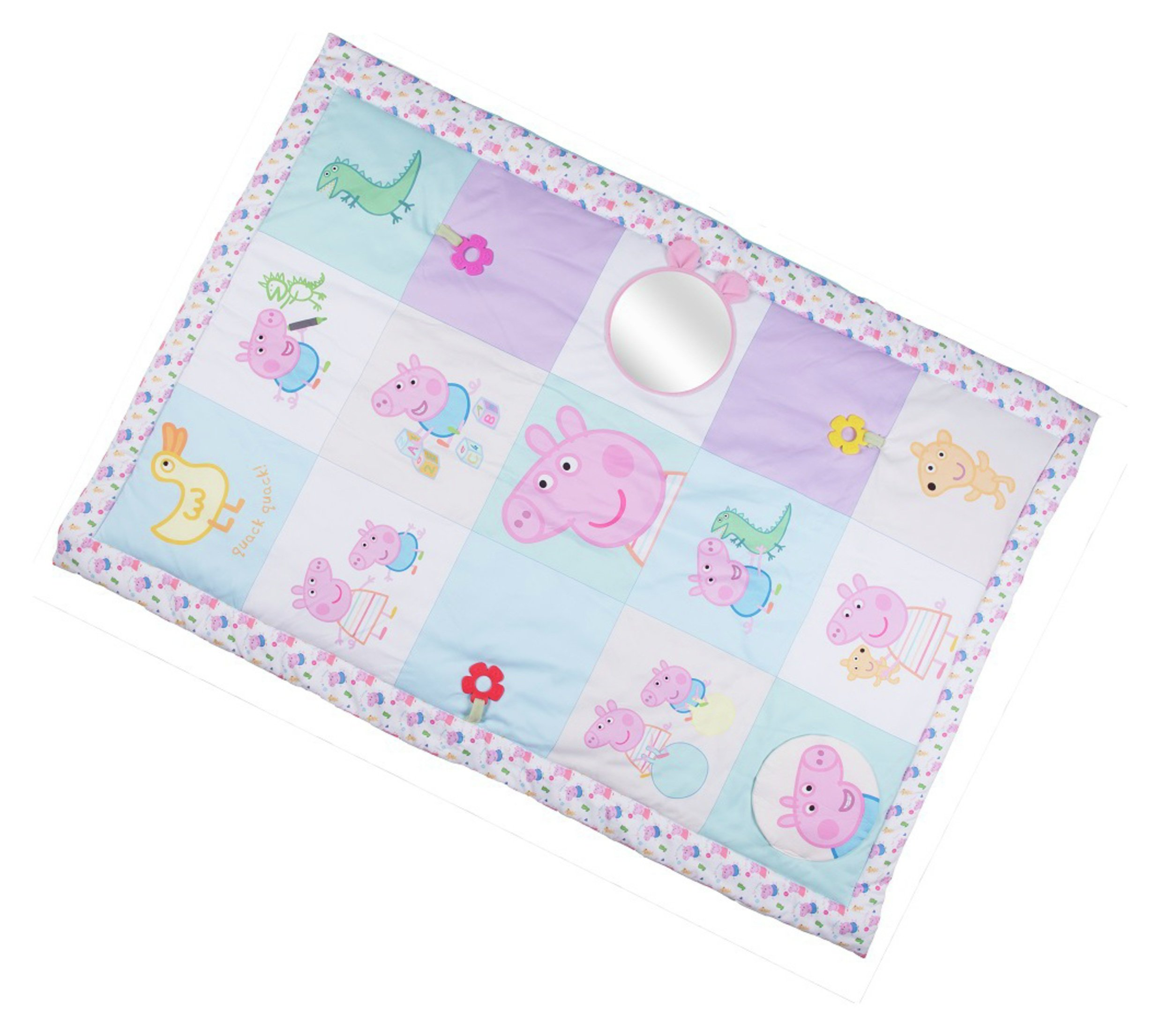 Peppa Pig for Baby Tummy Time Activity Mat.