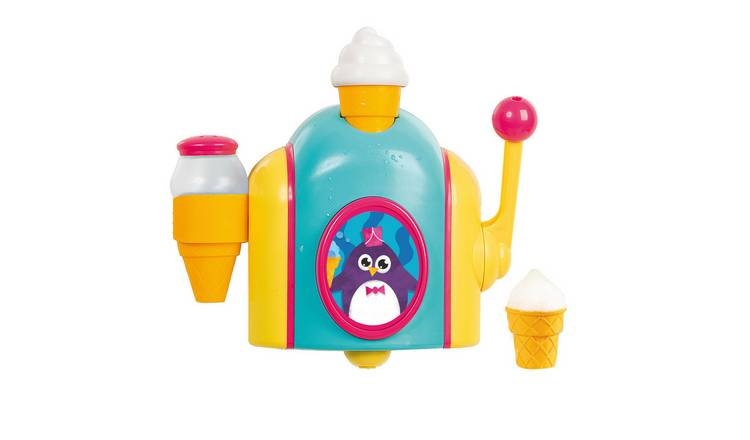 Toy Ice Cream Maker Bubble Foam Play Machine Bathtub Toys Play Akokie Bath Toys