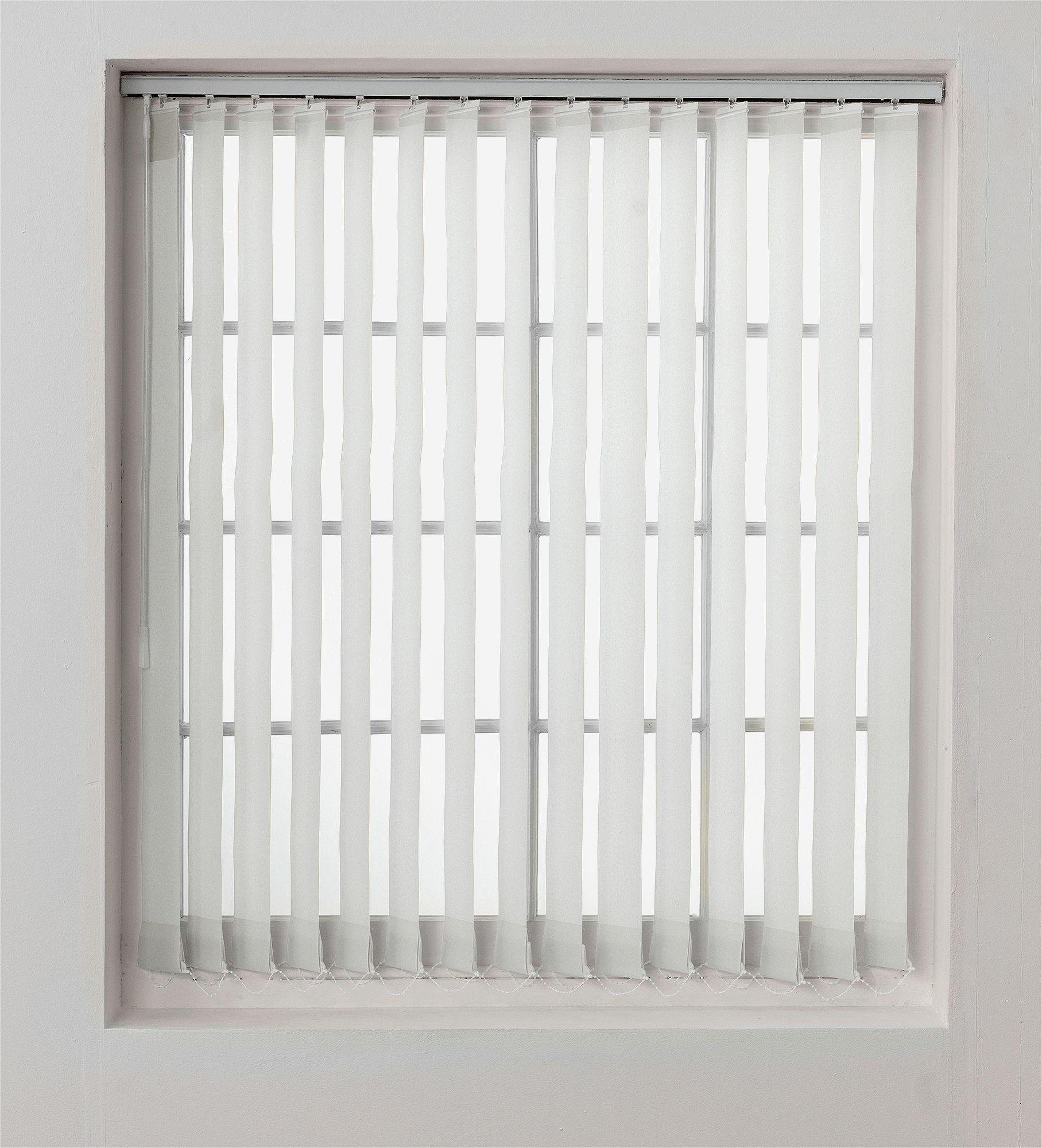 Buy Argos Home Vertical Blind Slats Pack 4 5ft White Blinds