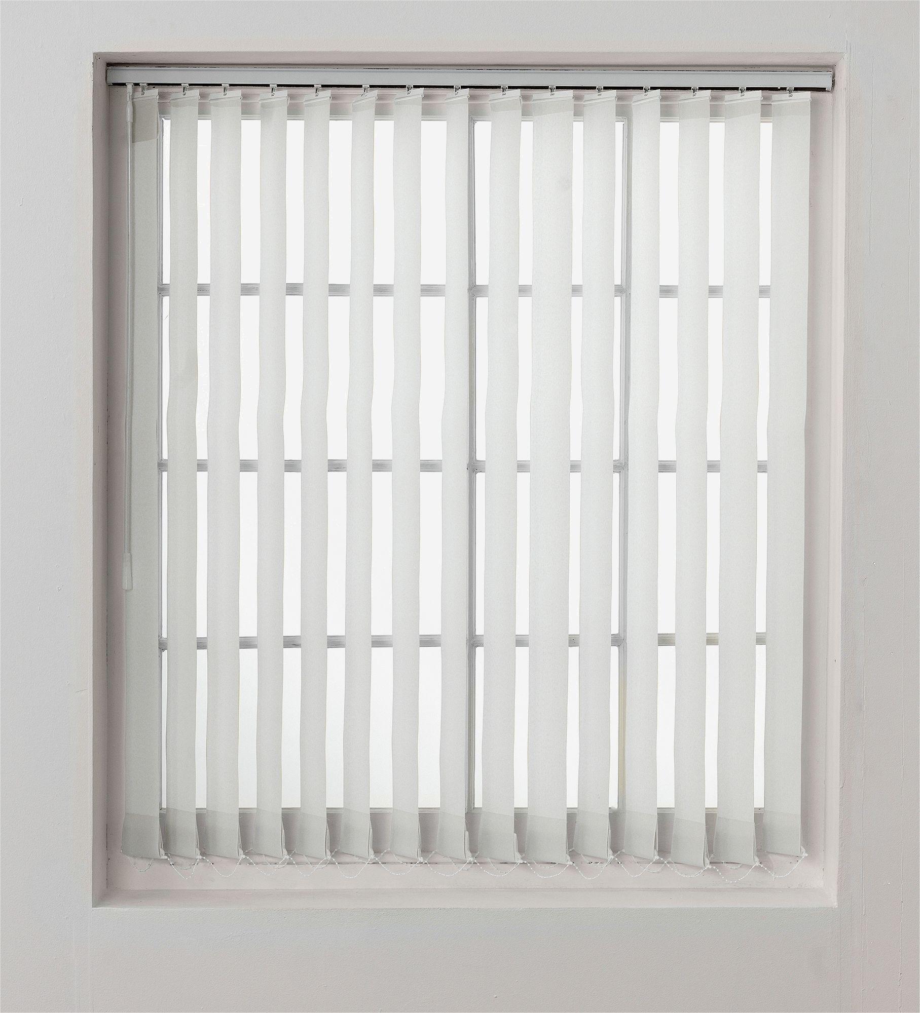 Vertical Blinds buy home vertical blind slats pack - 4.5ft - white at argos.co.uk